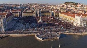 Manifestação da CGTP de Fevereiro de 2012