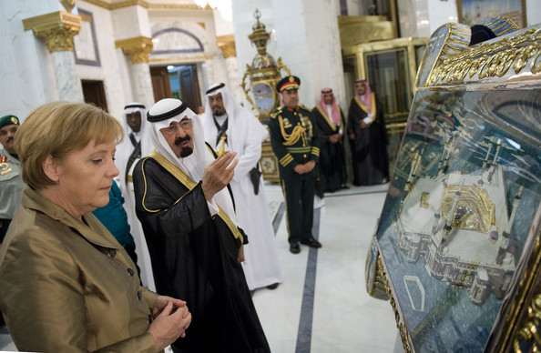 German+Chancellor+Merkel+Visits+Gulf+States+vG4IcactiYyl