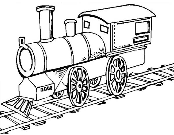 Picture-of-Old-Steam-Train-Locomotive-Coloring-Page
