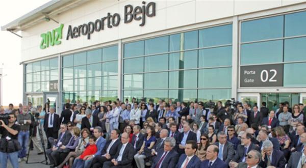 Aeroporto de Beja vai ter área de desmantelamento de aviões (2)